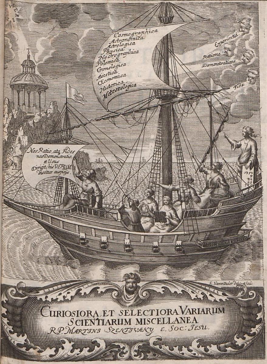 Titulná strana encyklopédie Martina Sentivániho Miscellanea
