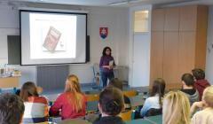 docentka Magalová urobila krátku úvodnú prednášku