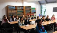 študentky 3. ročníka odboru slovenský jazyk a literatúra