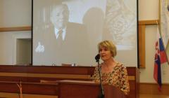príhovor riaditeľky univerzitnej knižnice Zuzany Martinkovičovej