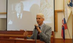 príhovor prorektora pre vedeckú a umeleckú činnosť Vladimíra Rábika