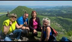 Vyhliadka - Malý Manín, Súľovské skaly