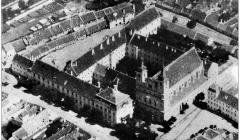 Letecký pohľad na Trnavu 1928-1930