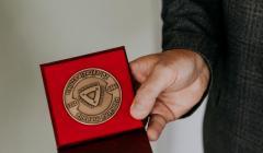 pamätná medaila pri 20. výročí Katolíckej univerzity v Ružomberku