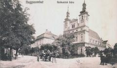 Univerzitné námestie v Trnave v roku 1915