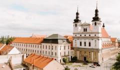 Univerzitný areál s kostolom Jána Krstiteľa